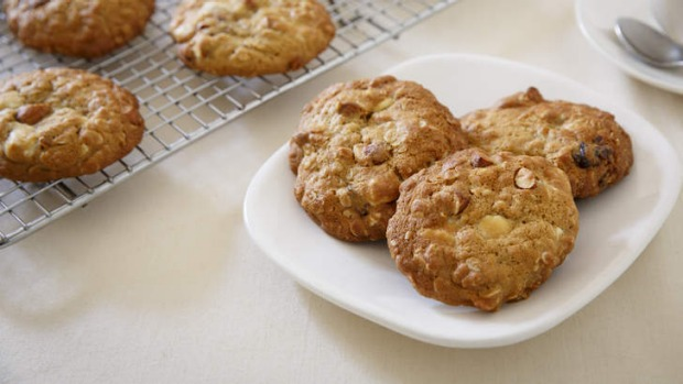 Oatmeal, Pecan, And Date Sticky Biscuits Recipe — Dishmaps